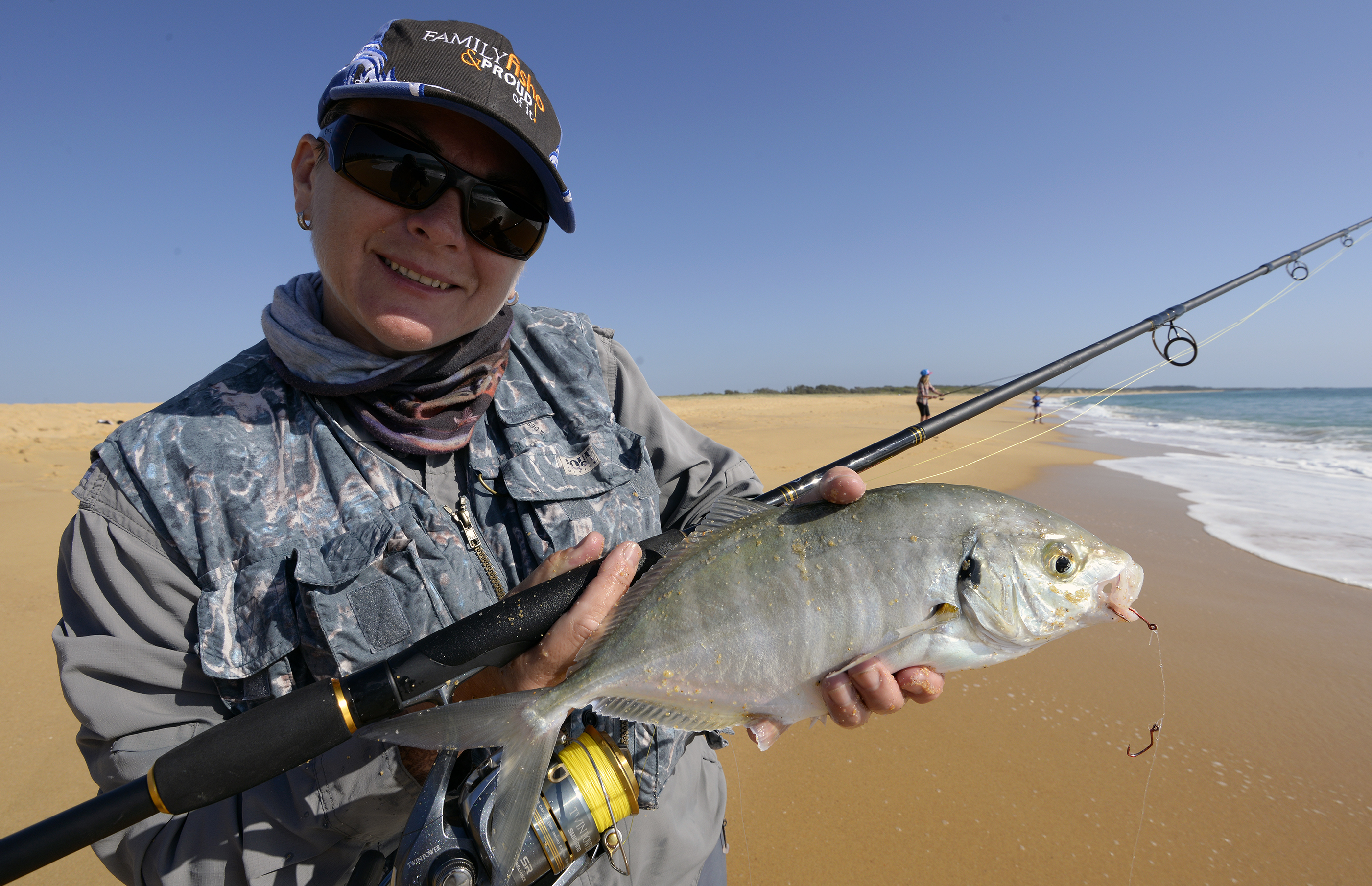 Well-filled reels cast better, but don't overdo it, especially when using braid.