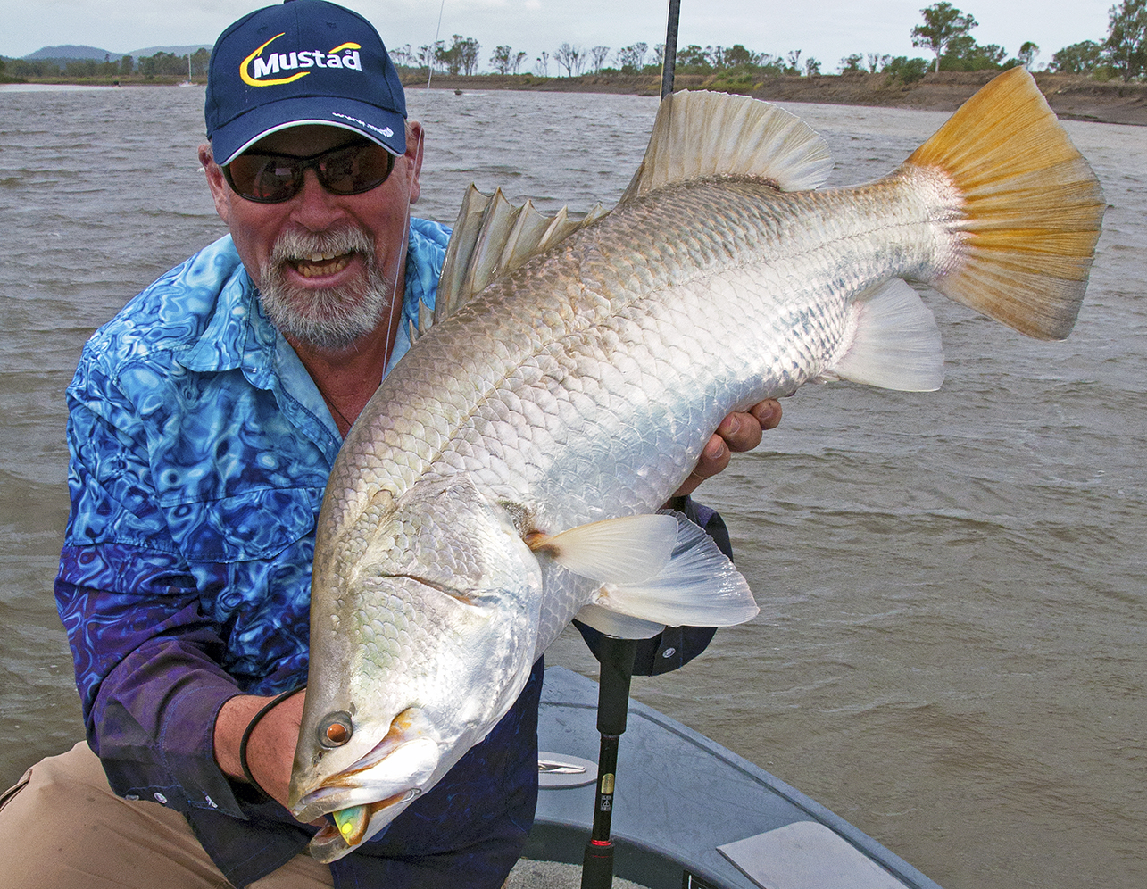 Barra numbers and average sizes have rebounded spectacularly in the Fitzroy River at Rockhampton since the nets came out.