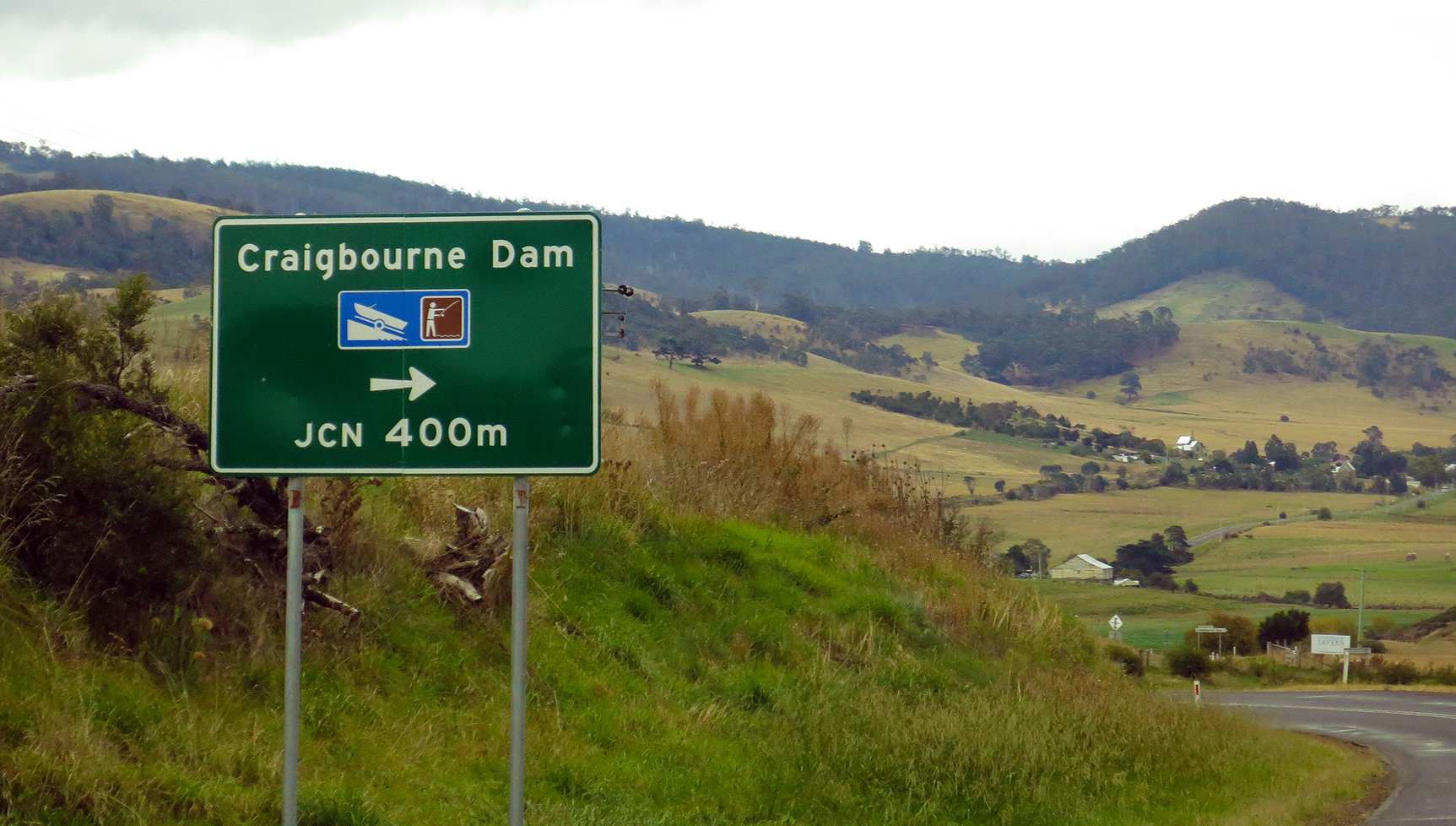 Craigbourne is easy to find and get to and lies about an hour out of the centre of Hobart.
